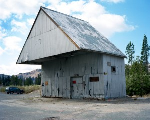 Building near Donner Lake, California, 2008, 70x87,5 cm.jpeg