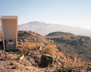Makeshift Toilet at an Opal Mine, Nevada, 2008 , 56x70 cm.jpeg
