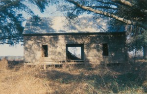 Abandoned House in Field, Near Montgomery, Alabama, 1971 © William Christenberry; courtesyPace_MacGill Gallery, New York.jpeg