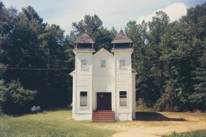 Church, Sprott, Alabama, 1977 © William Christenberry; courtesy Pace_MacGill Gallery, New York.jpeg