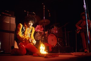 Jimi Hendrix lighting his guitar on fire on stage at Monterey International Pop Festival, Monterey, California, June, 1967 © Jim Marshall Photography LLCjpg.jpg