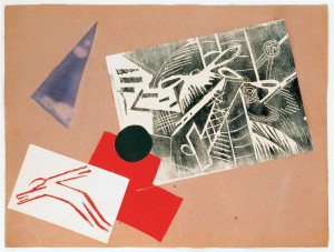 Olga Rosanowa, Collage fÅr die Mappe Der Krieg, 1916.jpg