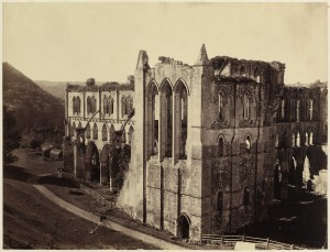 02_Roger Fenton - Rievaulx Abbey, the North Transept 1854 Paul Mellon Fund.jpg