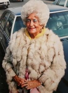 Woman in Fur Jacket, Brighton Beach, Brooklyn, NY, 1982 .JPG