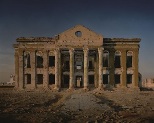 Simon Norfolk, A government building, close to the former presidential palace at Darulaman, destroyed in fighting between Rabbani and the Hazaras, 2001.jpg