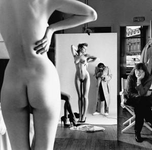 Self Portrait with Wife and Models Paris 1981 C Helmut Newton Estate.jpg