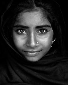 Portrait eines Gypsie Mädchens, Indien 2014.jpg