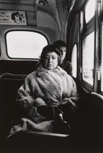 3. Lady on a bus, N.Y.C. 1957.jpg