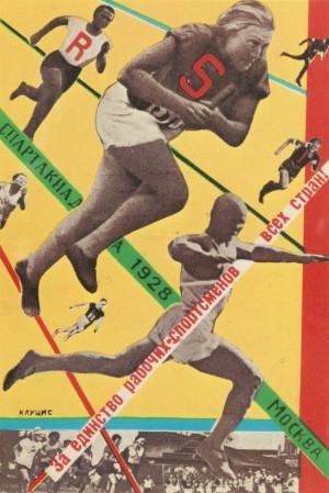 Gustav Klutsis, Moscow All-Union Olympiad 1928.jpg