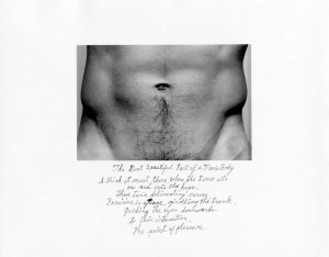 4_Duane Michals, The most beautiful part of a man´s body, 9_25, 1986, Silver gelatin Print_copyright Duane Michals_courtesy Galería Max Estrella .jpg