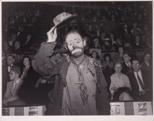 Emmett Kelly, Ringling Brothers and Barnum & Bailey Circus © Weegee (Arhtur Fellig), International Center of Photography, courtesy Of The J. Paul Getty Museum, Los Angeles.jpg