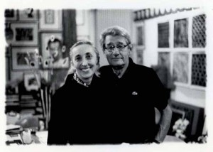 8_Carla Sozzani and Helmut Newton in her Studio_Milano_1999_copyright Lorenzo Camocardi_courtesy Fondazione Sozzani.jpg
