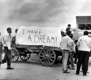 Mule train Leaves for Washington, Poor People's March, Ernest Withers.jpg