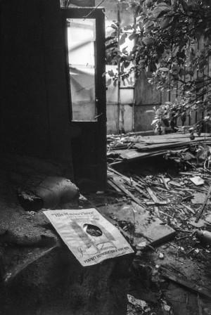 Josef Sudek's Studio after the Fire, Prague 1987 © Miroslav Hucek.JPG