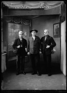 3_Portrait de trois hommes en tenue de mineurs de fond - Kasimir ZGORECKI - 1927 © adagp CRP Hauts-de-France.jpeg