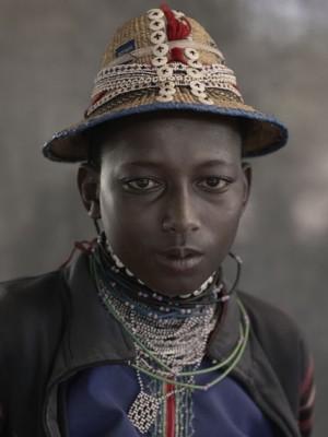 Mere Adamou, 14 years old, Daoura, Peuhl Festival, Péhunco, Benin, 2011.jpg