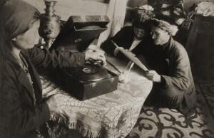 Eleazar Langman. Ilambaev and Kuzishtabaev. 1934. Private collection, Moscow.jpg