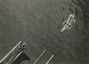Eleazar Langman. Water jump. 1932. Private collection, Moscow.jpg