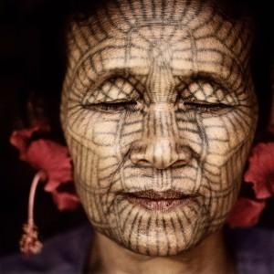 Ma Hla Oo aus Laytu-Chin, Nördliches Rakhine, Burma_Jens_Uwe_Parkitny_21x21cm.jpg